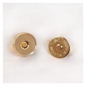 マグネットボタン 磁気防止差し込みタイプ(1121) 14mm G.ゴールド (H)_6a_|okadaya-ec