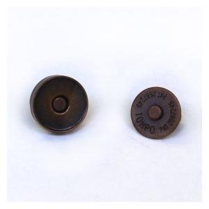 マグネットボタン 磁気防止差し込みタイプ(1121) 14mm B.ブロンズ (H)_6a_|okadaya-ec
