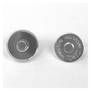 マグネットボタン 磁気防止差し込みタイプ(1122) 20mm N.シルバー (H)_6a_|okadaya-ec