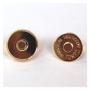 マグネットボタン 磁気防止差し込みタイプ(1122) 20mm G.ゴールド (H)_6a_|okadaya-ec