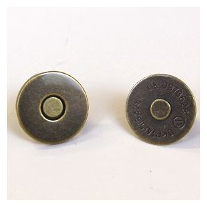 薄型マグネットボタン 差し込みタイプ(1135) 18mm AT.アンティークゴールド (H)_6a_|okadaya-ec