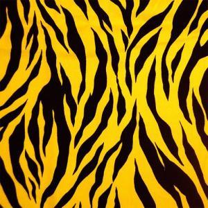 ●素材:綿100% ●生地幅:約112cm   【生地の特徴】 トラ柄のコットンプリント生地です。 ...