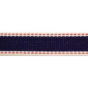 アクリルテープ ストライプステッチ 約25mm幅 102.紺 (H)_4a_|okadaya-ec