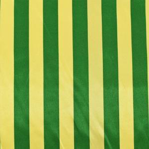 サテン生地 ホワイトストライプス(170326) 7.黄×緑 (H)_at_|okadaya-ec