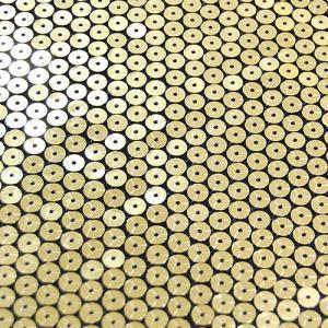 生地 国産オリジナルスパングル(500674) 2.黒地×ゴールド (H)_at_|okadaya-ec