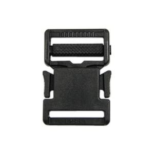 YKK プラスチックパーツ 差し込みバックル(LB25) 25mm幅テープ用 黒 1個入 (B)_4a_|okadaya-ec
