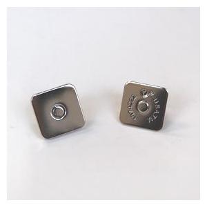 四角マグネットボタン 差し込みタイプ(M4014) 18mm S.シルバー (H)_6a_|okadaya-ec