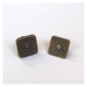 四角マグネットボタン 差し込みタイプ(M4014) 18mm AG.アンティークゴールド (H)_6a_|okadaya-ec