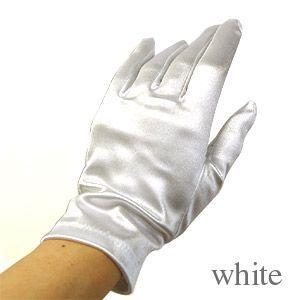 手袋 スパングローブ 21cm/Mサイズ ホワイト (H)_3b_|okadaya-ec