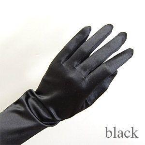 手袋 スパングローブ 40cm/Mサイズ ブラック (H)_3b_|okadaya-ec