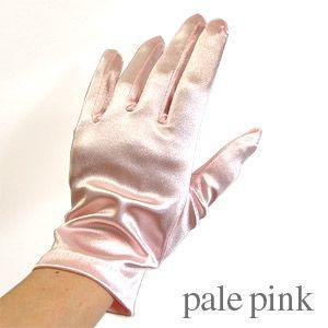 手袋 スパングローブ 21cm/Mサイズ ペールピンク (H)_3b_|okadaya-ec