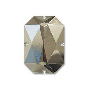 縫いつけメタルパーツ 8角形(GAG50014-24) 24×18mm N.シルバー (H)_3b_ okadaya-ec