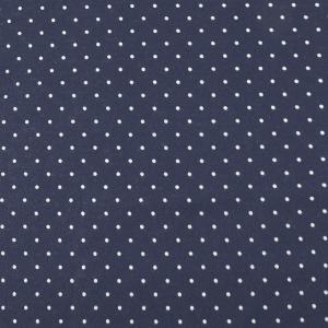 生地 水玉スムースプリント(142-1470) A12.紺×白 (B)_at_|okadaya-ec