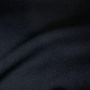 合繊ニット生地 トロア(NEW-333) N-18.黒 k4...