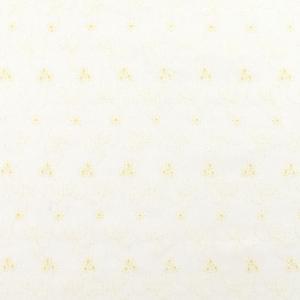生地 クレンゼ ダブルガーゼ刺繍(YO1990) A.オフホワイト (H)_ki_