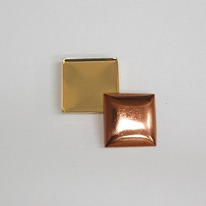 くるみ金具 帯留め金具 正方形(no5) ゴールド (B)_5a_|okadaya-ec