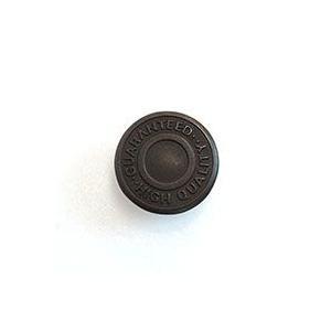 \期間限定15%OFF/ デニムボタン ネオバーロゴ入り(NP-1-17.GHQ) 17mm ASD.いぶしブラック (H)_6a_|okadaya-ec