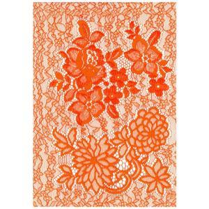 ホットメルトリバーレース(X3129) オレンジ (H)_4b_|okadaya-ec