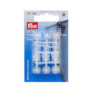 prym-プリム- プラスチックスナップボタン 10mm 透明 (B)z6a_ okadaya-ec