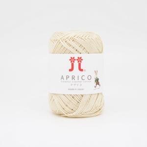 手編み糸 ハマナカ アプリコ 色番1 (M)_b1_