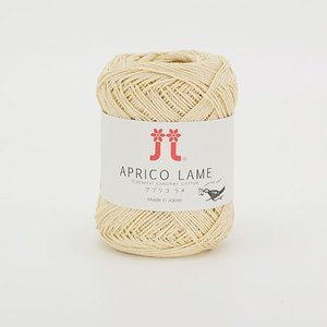 手編み糸 ハマナカ アプリコ ラメ 色番115 (M)_b1_