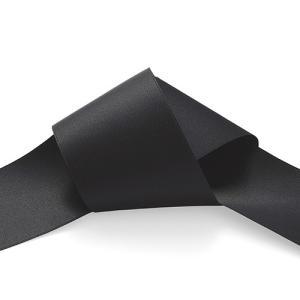 エリートサテンリボン(102) 50mm 201.黒 (B)_4b_ okadaya-ec