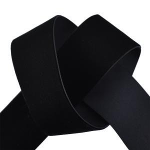 エリート片面ベルベットリボン(205) 38mm 5.ブラック (B)_4b_|okadaya-ec