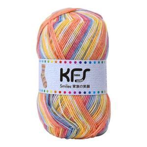 毛糸 Opal-オパール- 家族の笑顔 KFS116.赤ちゃんの笑顔/オレンジ・イエロー系マルチカラー (B)_5bj|okadaya-ec