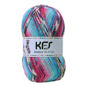 毛糸 Opal-オパール- セレクション KFS128.アイスクリーム/水色・ピンク系マルチカラー (B)_5bj|okadaya-ec