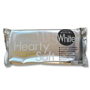 \期間限定15%OFF/ 軽量粘土 ハーティソフト 200g ホワイト(白) (H)_3b_|okadaya-ec