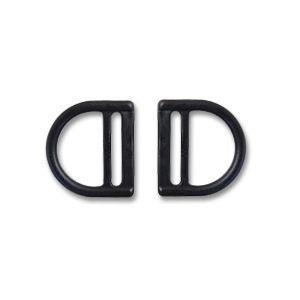 Nifco-ニフコ- プラスチックパーツ Dカン(DBR25) 25mm幅テープ用 2個入 (B)_4a_|okadaya-ec