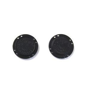 マグネットボタン 縫い付けタイプ(M-022) 22mm クロ (H)_6a_|okadaya-ec