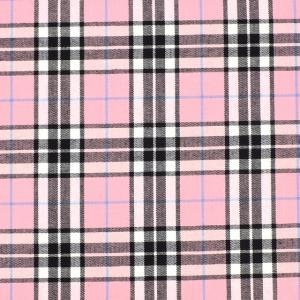 生地 テッキングタータン(18-0611) 31.薄いピンク×水色ライン (B)_at_|okadaya-ec