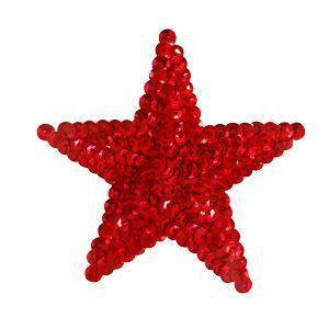 スパンコールモチーフ 星型 大(M2909/C) 縫い付けタイプ 39.レッド (H)_4b_|okadaya-ec