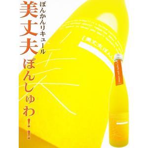 美丈夫 ぽんしゅわっ!! 500ml (びじょうふ)柑橘系の酸味と心地よいシュワシュワ感☆ okadayasaketen