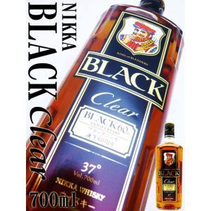 ブラックニッカ クリア 37度 700ml (BLACK NIKKA Clear) ブレンデッド ウイスキー whisky 洋酒|okadayasaketen