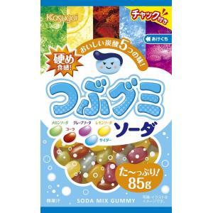 春日井製菓 つぶグミソーダ 85g×6袋