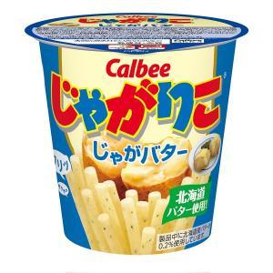 カルビー じゃがりこ じゃがバター 58g × 12個...