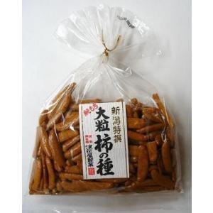 浪花屋製菓 元祖柿の種 大粒柿の種 巾着 120g×10袋