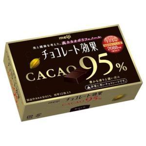 上質なカカオの苦味には、カカオ由来のポリフェノールが多く含まれています。カカオ分95%の高ポリフェノ...
