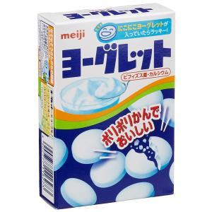 ビフィズス菌・カルシウム配合のおいしいヨーグルト味タブレット「ヨーグレット」です。