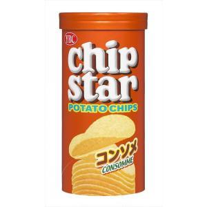 ポテトの風味が豊かなおいしさのチップスターSサイズのコンソメ味。パリッとした軽い食感で、コンソメ風味...