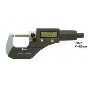 シンワ デジタルマイクロメーター 79523|okaidoku-kiyosi