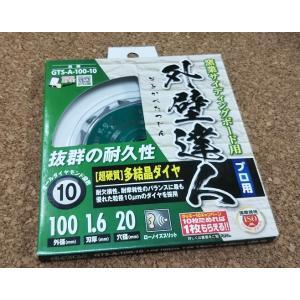 モトユキ   サイディングチップソー ダイヤ 100mm   外壁達人 GTS-A-100-10 1...