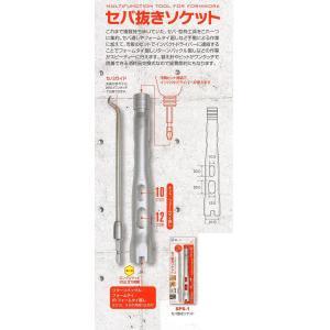 カクイ製作所 セパ抜きソケット SPS-1 セパ・型枠工具をこれ一つに集約|okaidoku-kiyosi