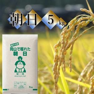 米 お米 5kg 朝日 30年岡山産 送料無料 okaman