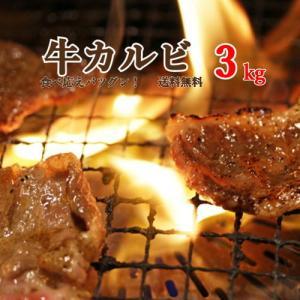 豪州産カルビ肉 焼肉 3kg (500g×6パック) 送料無料 ※北海道沖縄は別途770円