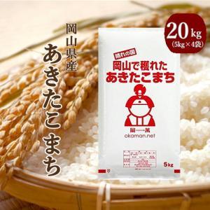 29年産 岡山県産あきたこまち20kg(5kg×4袋)新米入...