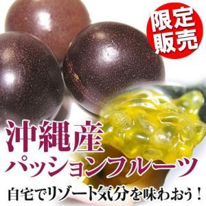 沖縄産 パッションフルーツ 500g 沖縄 お土産 フルーツ