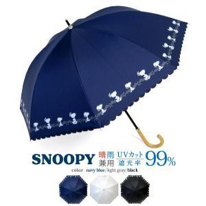 日傘 レディース スヌーピー ヒートカット 晴雨兼用傘 UVカット 遮光率99% 47cm 手開 送料無料|okamoto-kasa